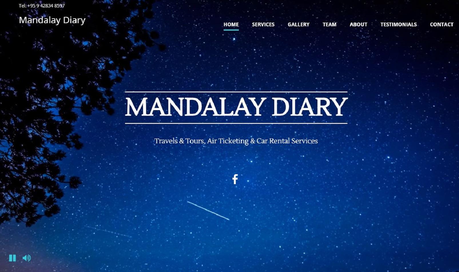 Mandalay Diary