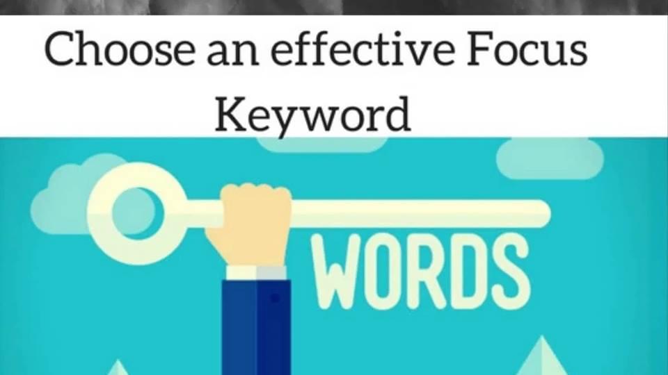 Yoast Focus Keyword